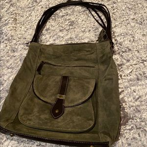 COLDWATER CREEK SUEDE PURSE